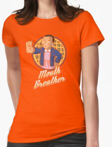 Mouth Breather Womens Fitted T-Shirt