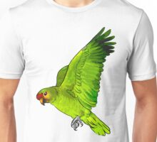 Red-lored amazon parrot Unisex T-Shirt