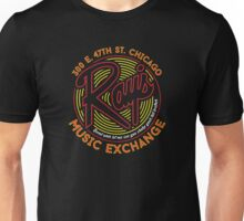 Ray's Music Exchange - Bend Over Shake Reverse Variant Unisex T-Shirt
