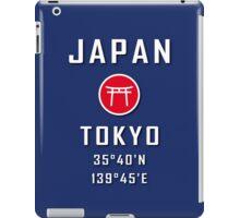 Japan Tokyo Decoration Vintage iPad Case/Skin