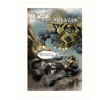 'Round the Mountain Art Print