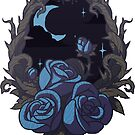 Blue Roses - Midnight by Demmy