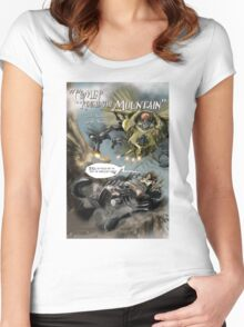 'Round the Mountain Women's Fitted Scoop T-Shirt