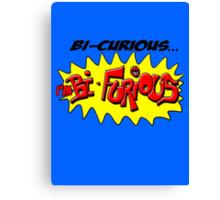 Scott Pilgrim VS The World - Bi- Curious...I'm Bi- Furious Canvas Print