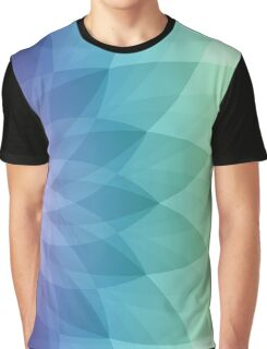 Abstract Flower Design Graphic T-Shirt