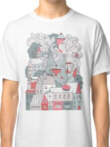 Town cat tea party Classic T-Shirt