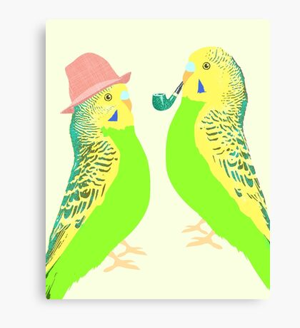 Feather Friends  Canvas Print