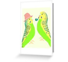 Feather Friends  Greeting Card