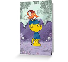 Ferald and Birzy Greeting Card