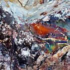 Galaxy of Dreams - Macro Rock Photography by Kathie Nichols