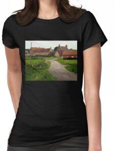 Wellow,  a Quiet Corner. Womens Fitted T-Shirt