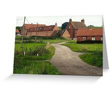 Wellow,  a Quiet Corner. Greeting Card
