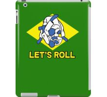 Brazilian jiu-jitsu (BJJ) Let's roll iPad Case/Skin