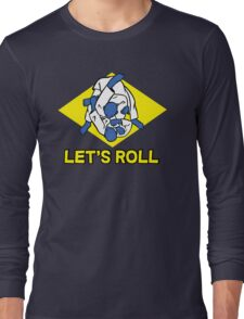 Brazilian jiu-jitsu (BJJ) Let's roll Long Sleeve T-Shirt