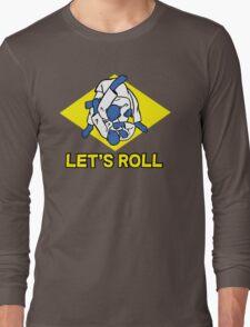 Brazilian jiu-jitsu (BJJ) Let's roll Long Sleeve T-Shirt