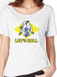 Brazilian jiu-jitsu (BJJ) Let's roll Women's Relaxed Fit T-Shirt