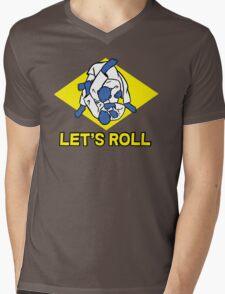 Brazilian jiu-jitsu (BJJ) Let's roll Mens V-Neck T-Shirt