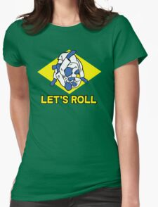 Brazilian jiu-jitsu (BJJ) Let's roll Womens Fitted T-Shirt