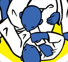 Brazilian jiu-jitsu (BJJ) Let's roll Sticker