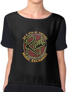 Ray's Music Exchange - Bend Over Shake Variant Chiffon Top
