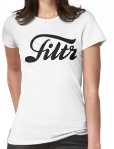 Filth Black Womens Fitted T-Shirt