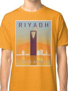 Riyadh vintage poster Classic T-Shirt