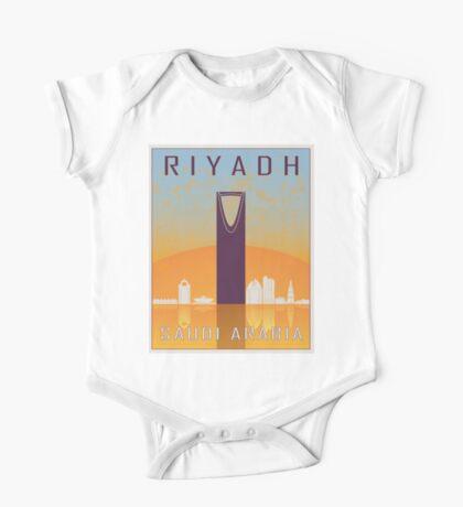 Riyadh vintage poster One Piece - Short Sleeve