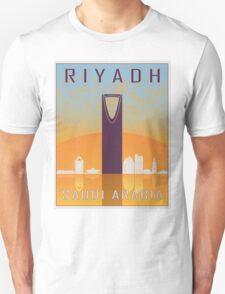 Riyadh vintage poster Unisex T-Shirt