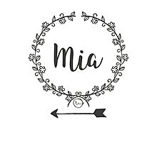 Mia Photographic Print