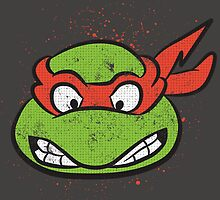 TMNT Raphael by grafoxdesigns