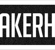 Sneakerhead Yeezy Boost 350 Pattern Black Sticker