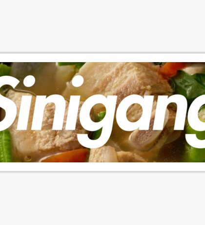 Sinigang Box Logo (Soup) Sticker