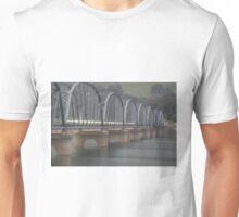 Traffic on the bridge Unisex T-Shirt