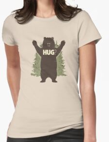 Hug Womens Fitted T-Shirt