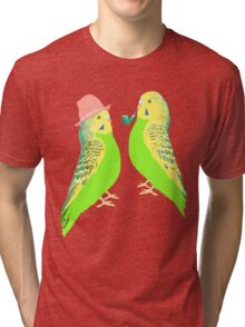 Feather Friends  Tri-blend T-Shirt