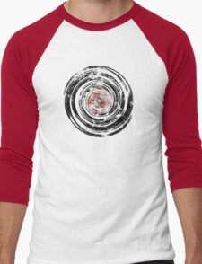 Old Vinyl Records Urban Grunge Men's Baseball ¾ T-Shirt