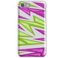 Voxel Triangles - CS:GO Skin (Purple-Green) iPhone Case/Skin