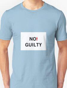 CROSS NOT GUILTY Unisex T-Shirt