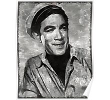 Anthony Quinn Hollywood Actor Poster