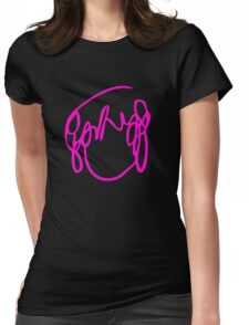 Scott Pilgrim VS the World - Have you seen a girl with hair like this...Ramona Flowers PINK Womens Fitted T-Shirt