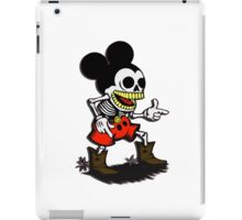 Skeleton mickey zombie mouse iPad Case/Skin