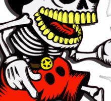 Skeleton mickey zombie mouse Sticker