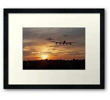 In To The Sun Framed Print