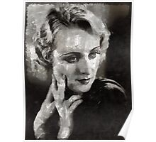 Carole Lombard Hollywood Actress Poster
