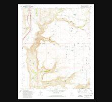 USGS TOPO Map Arizona AZ Joes Hill 311924 1969 24000 Unisex T-Shirt