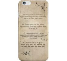 Moony Wormtail Padfoot and Prongs iPhone Case/Skin