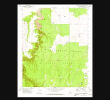 USGS TOPO Map Arizona AZ Hamilton Crossing 311637 1970 24000 Unisex T-Shirt