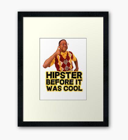 Steve Urkel - Hipster before it was cool Framed Print