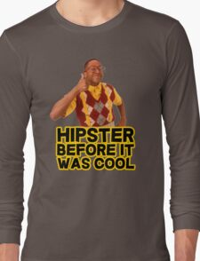 Steve Urkel - Hipster before it was cool Long Sleeve T-Shirt