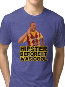 Steve Urkel - Hipster before it was cool Tri-blend T-Shirt